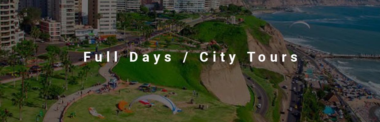 Full Days / City Tours
